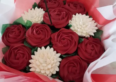 12 Cupcake Bouquet - Romance