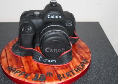 Digital SLR Camera Cake