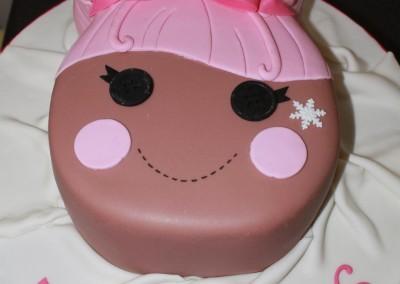 Swirly lala loopsy cake