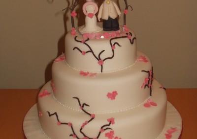 Wedding Cakes - Cherry Blossoms