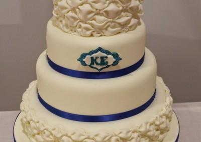 Wedding Cakes - Billowed Fondant