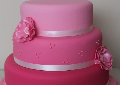 Wedding Cakes - Pink Ombre