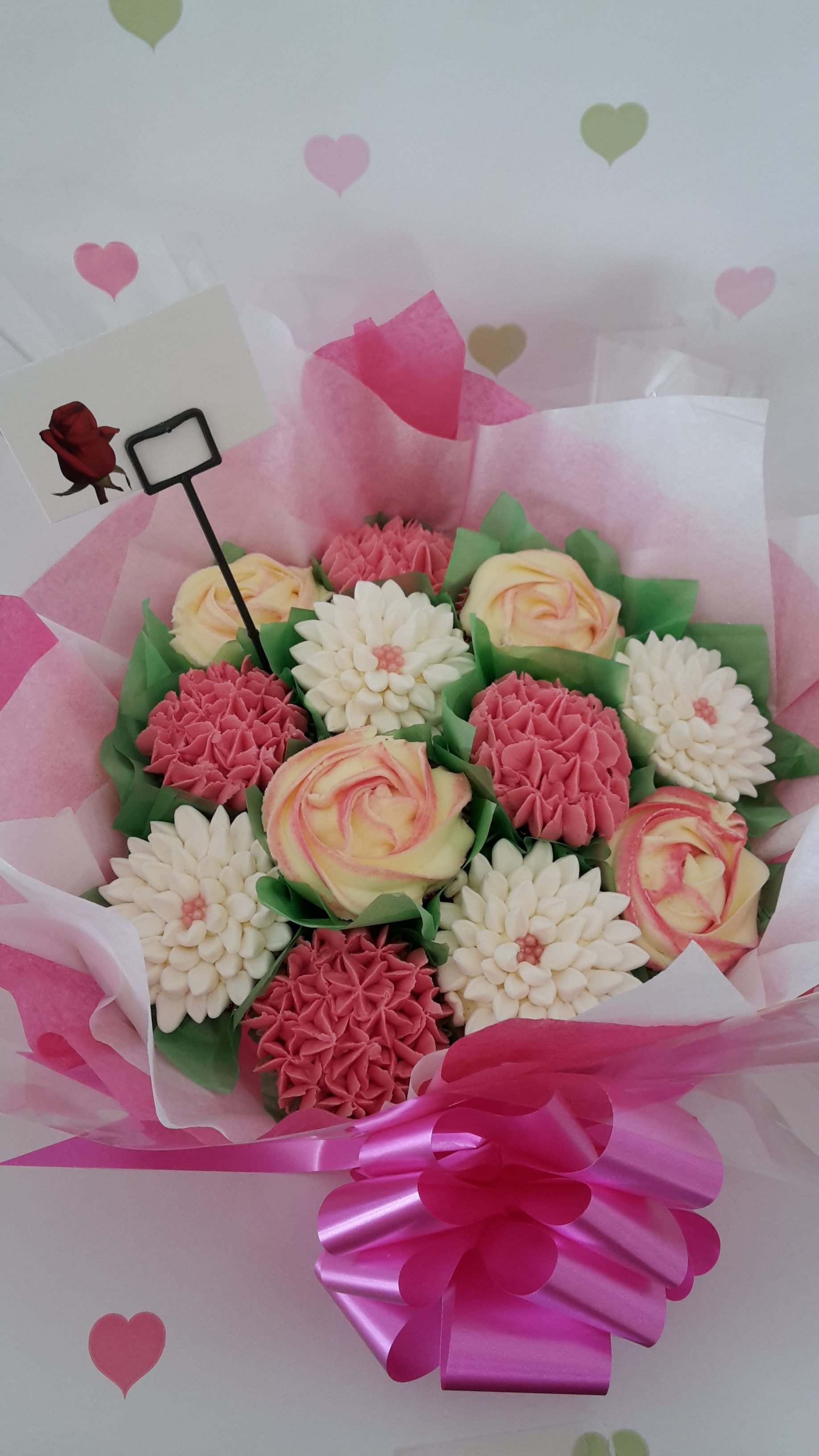 12 Cupcake Bouquet - Candy