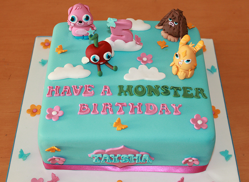 Moshii Monsters Cake