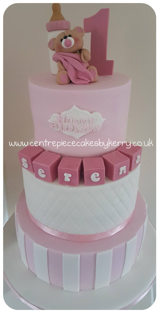 3 Tier Teddy Bear Cake