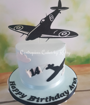 Planes themed birthday cake