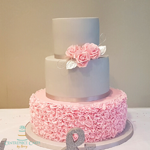 Pink Roses and Ruffles