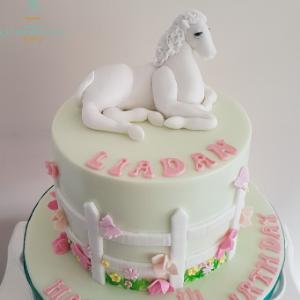 White Pony Cake