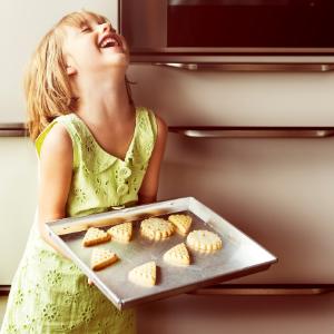 Happy Child Baking